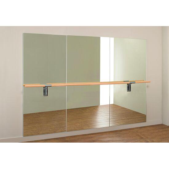 """Dinamica Ballet balletspiegel """"Amadeus"""" Enkele bar van 3m en 2 houders, 3,00x2,00 m"""