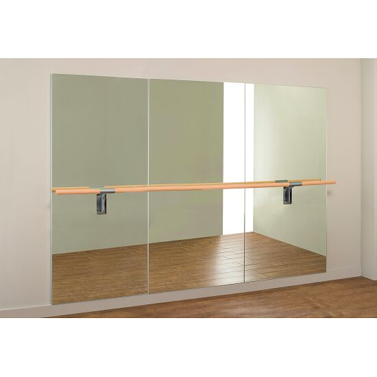"""Dinamica balletspiegel """"Amadeus"""" Enkele bar van 3m en 2 houders, 3,00x2,00 m"""