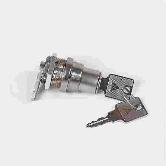 Draai-/drukcilinderslot voor kasten met schuifdeuren