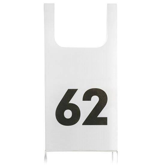 Dubbele startnummers van vliesstof Set 1-25