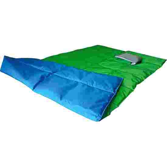 Enste Physioform Reha Zwaar deken/Gewichtsdeken 180x90 cm / groen-blauw, Buitenhoes Suratec