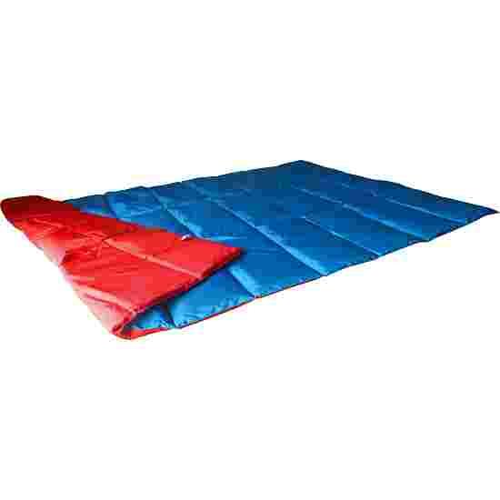 Enste Physioform Reha Zwaar deken/Gewichtsdeken 198x126 cm / blauw-rood, Buitenhoes Suratec