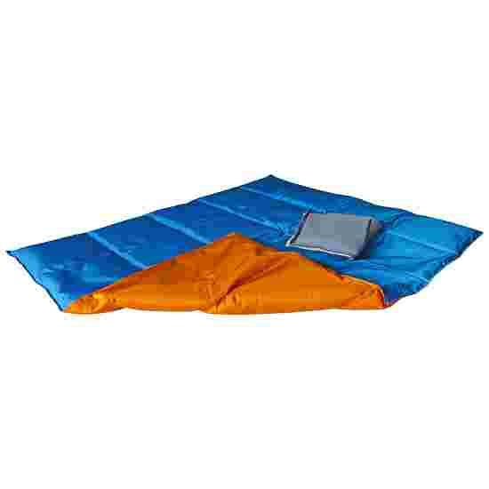 Enste Physioform Reha Zwaar deken/Gewichtsdeken 90x72 cm / oranje-blauw, Buitenhoes Suratec