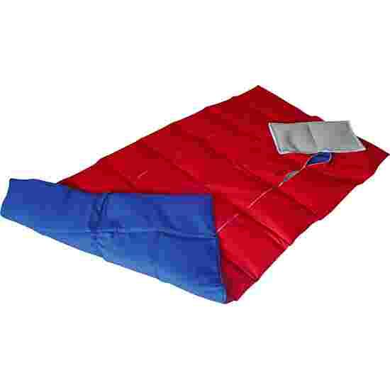 Enste Physioform Reha Zwaar deken/Gewichtsdeken 144x72 cm / blauw-rood, Buitenhoes katoen