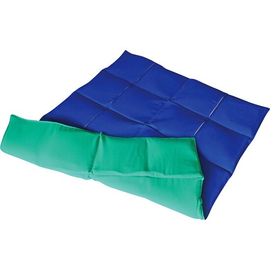 Enste zware deken/gewichtsdeken 90x72 cm / groen-blauw, Buitenhoes katoen