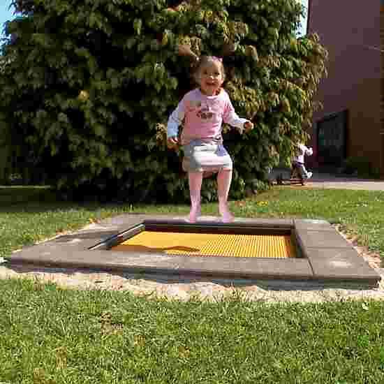 """Eurotramp Kids-Tramp """"Kindergarten Mini"""" Springdoek vierkant"""