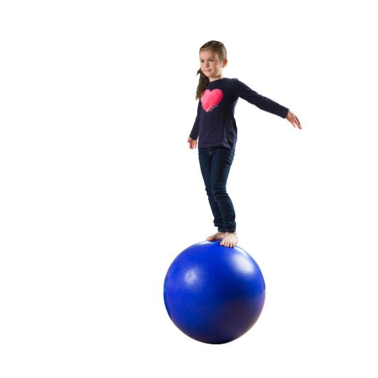 Evenwichtsbal / Loopbal ø ca. 60 cm, 12 kg, Donker blauw met zilverglitters