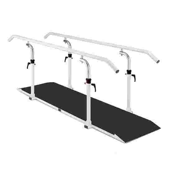 Ferrox Loopbrug met platform Lengte leggers 250 cm