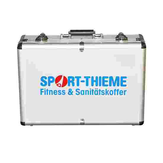 Fitness- en medische koffer gevuld