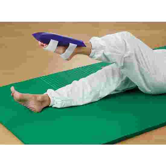 Gymnastiekzandzak Met klittenband, 2 kg, 30x15 cm
