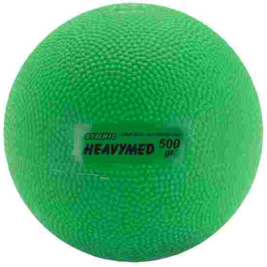 Gymnic Heavymed 500 g, ø 10 cm, Groen