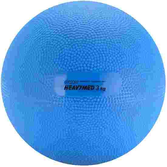 Gymnic Heavymed 3.000 g, ø 17 cm, blauw