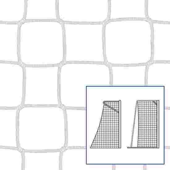 """Kleinveld-/handbaldoelnet """"80/100 cm"""" Wit, 4 mm"""