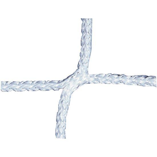 Knopenloos Herenvoetbaldoelnet 750x250 cm Wit