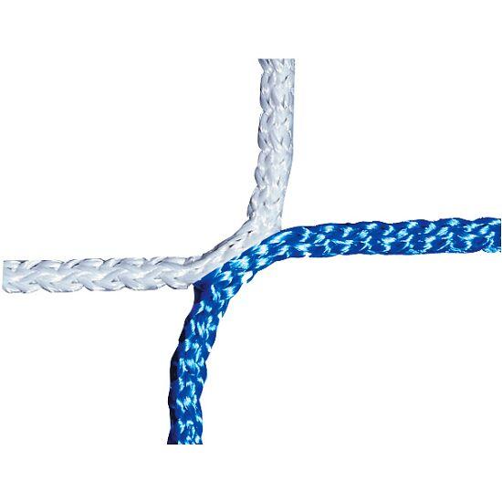 Knopenloos Jeugdvoetbaldoelnet 515x205 cm Blauw-wit