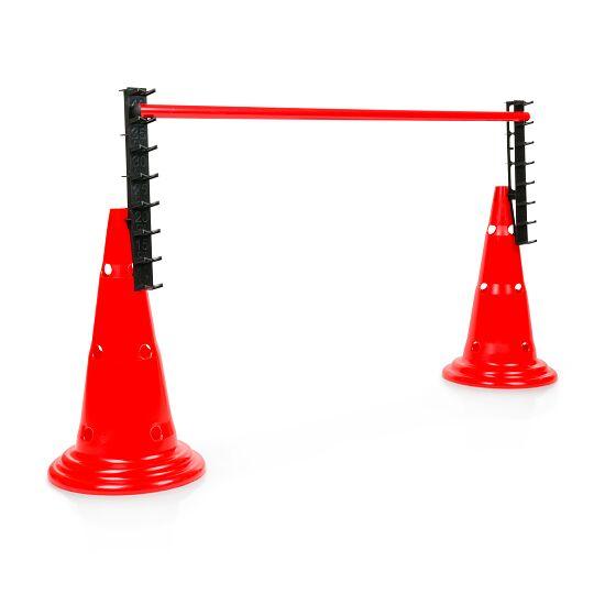 Ladderhorde voor markeerkegel met gaten