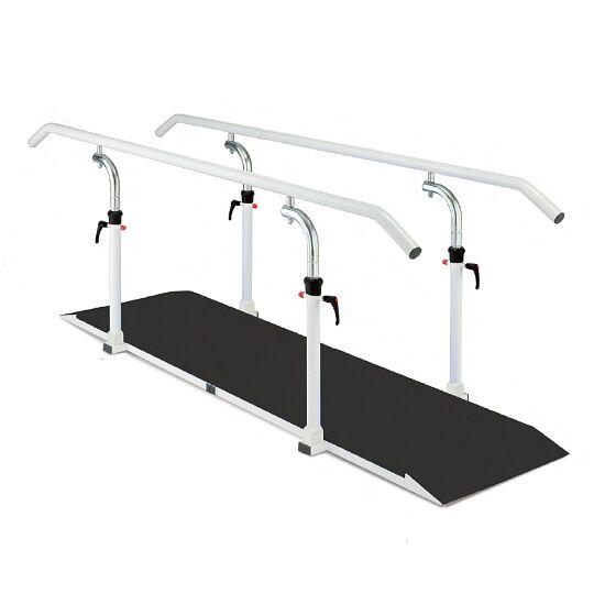 Loopbrug met platform Lengte leggers 250 cm