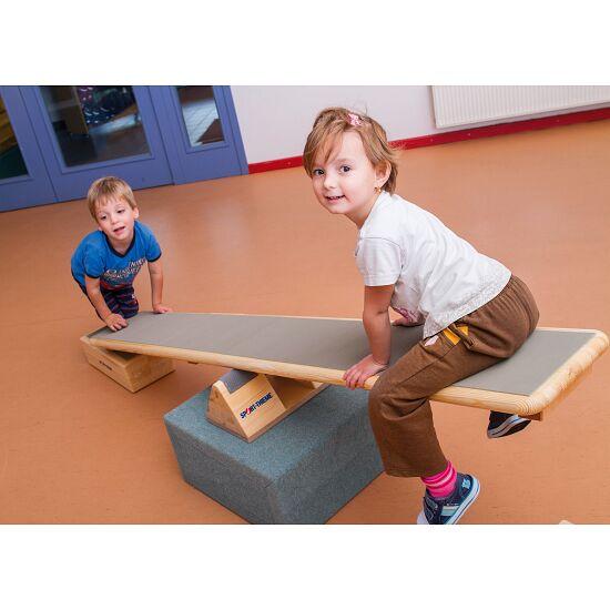 Lüne-Combinato® plank met blokken + geribbelde rubber
