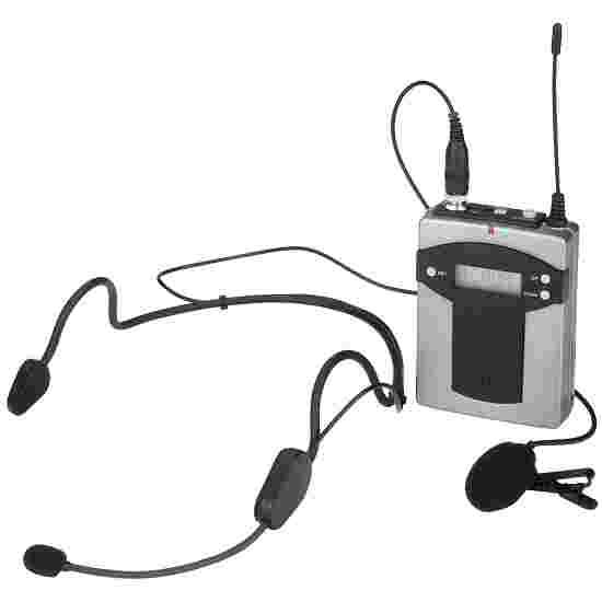 Monacor Pocketzender met 2 microfonen