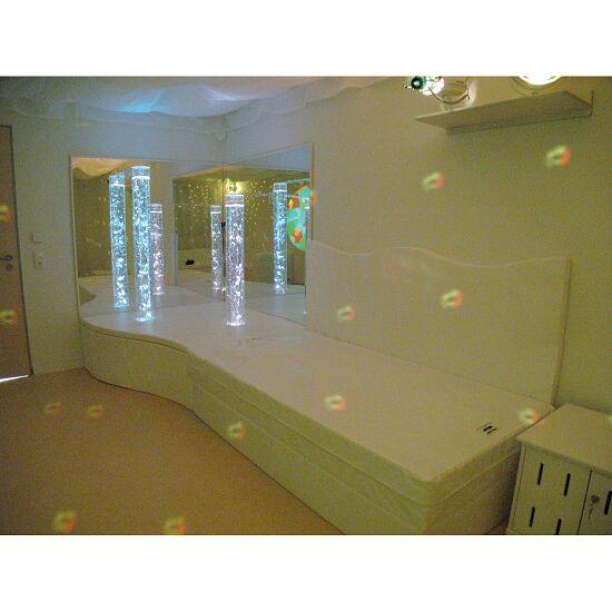 Rompa Muziek-Waterbed 160x200x50 cm hoog, Met 4 pulsgeneratoren