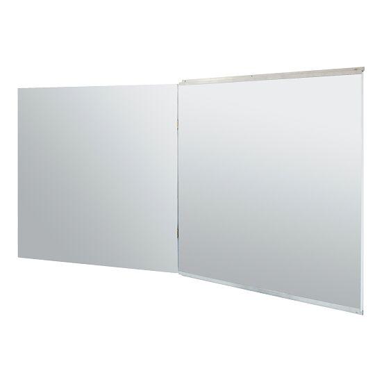 Samenklapbare spiegel voor wandmontage 150x100/200 cm (HxB)