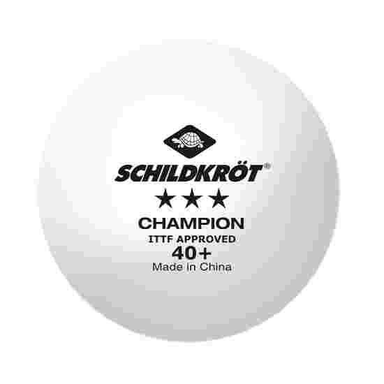 """Schildkröt Tafeltennisballen """"3-Star Champion"""" 3-delige set"""