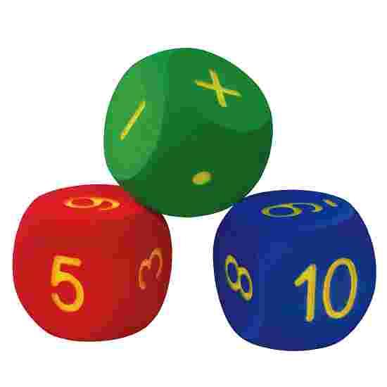 Set van 3 rekendobbelstenen