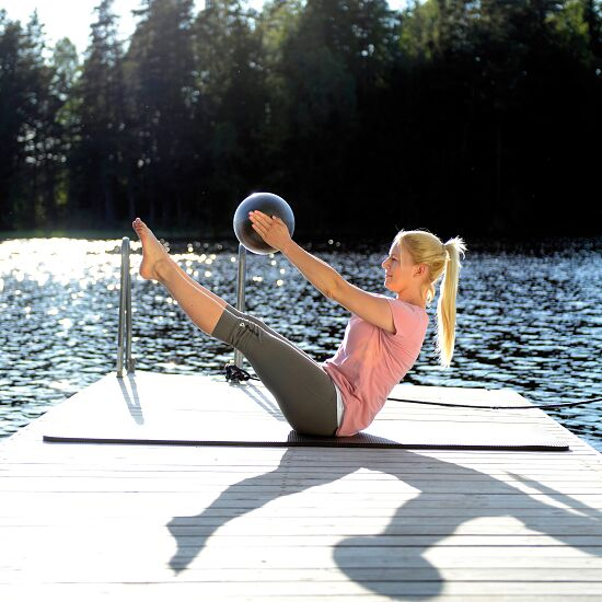 Sissel® Pilates Soft Ball ø 26 cm, metallic