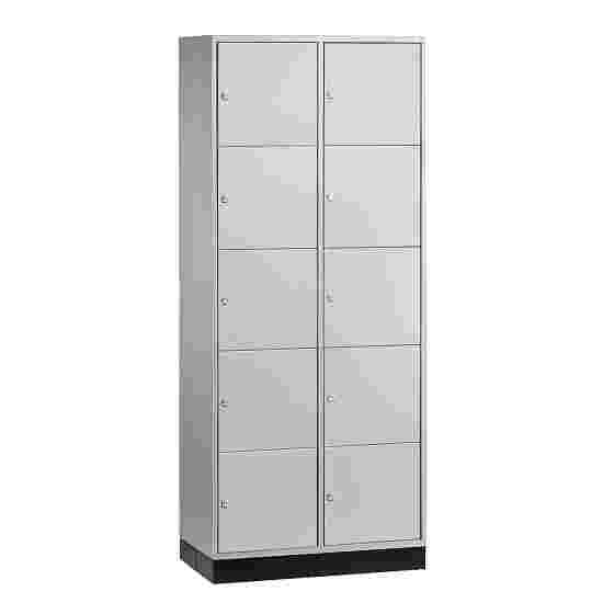 """Sluitvakkast """"S 4000 Intro"""" (5 vakken boven elkaar) 195x62x49cm/ 10 vakken, Lichtgrijs (RAL 7035)"""