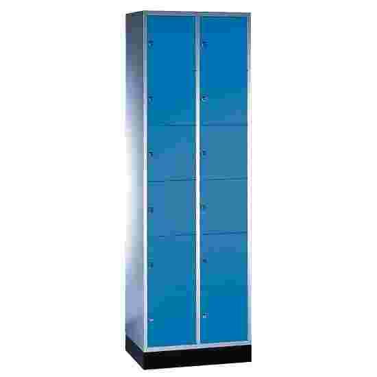 """Sluitvakkast """"S 4000 Intro"""" (6 vakken boven elkaar) 195x62x49 cm/ 12 vakken, Gentiaanblauw (RAL 5010)"""