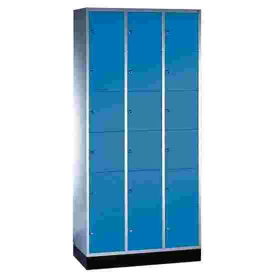 """Sluitvakkast """"S 4000 Intro"""" (6 vakken boven elkaar) 195x92x49 cm/ 18 vakken, Gentiaanblauw (RAL 5010)"""