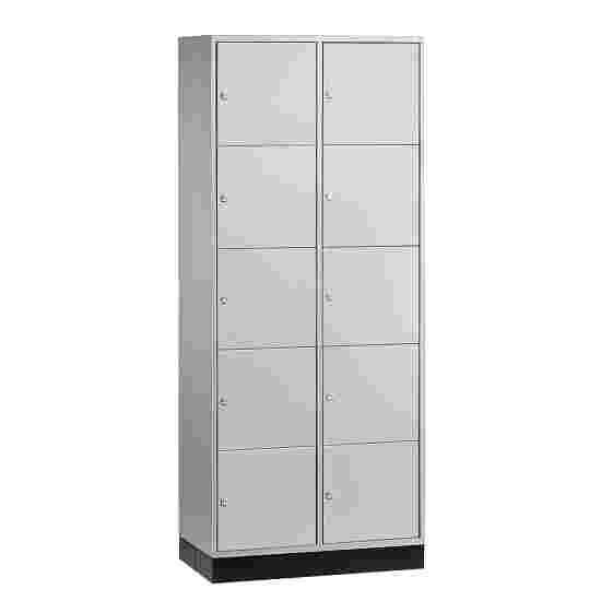 """Sluitvakkast voor grote ruimten """"S 4000 Intro"""" (5 vakken boven elkaar) 195x85x49 cm/ 10 vakken, Lichtgrijs (RAL 7035)"""