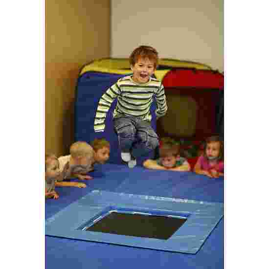 Speeloppervlak met trampoline