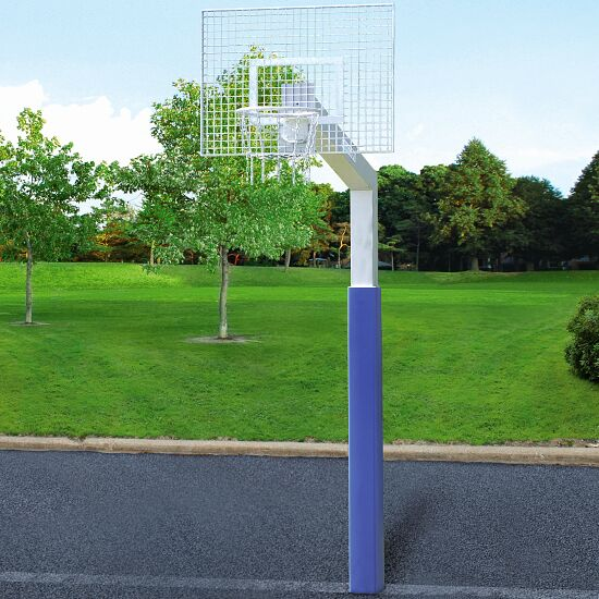 "Sport-Thieme Basketbalinstallatie met kettingnet ""Fair Play Silent"" Ring ""Outdoor"", 120x90 cm"
