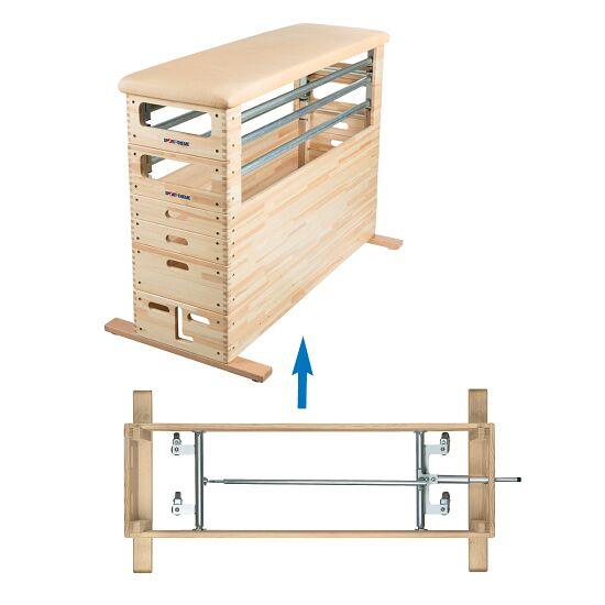 Sport-Thieme Combi-Turnbouwkasten Set Met zwenkwielinrichting