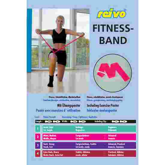 Sport-Thieme Fitnessband 150 2 m x 15 cm, Groen, licht