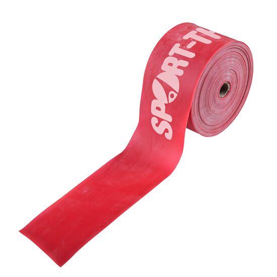 Sport-Thieme® Fitnessband 75 25 m x 7,5 cm, Rood = extra sterk