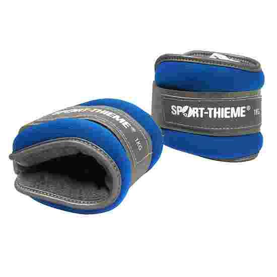 """Sport-Thieme Gewichtsmanchetten """"Premium"""" 1 kg, Blauw"""