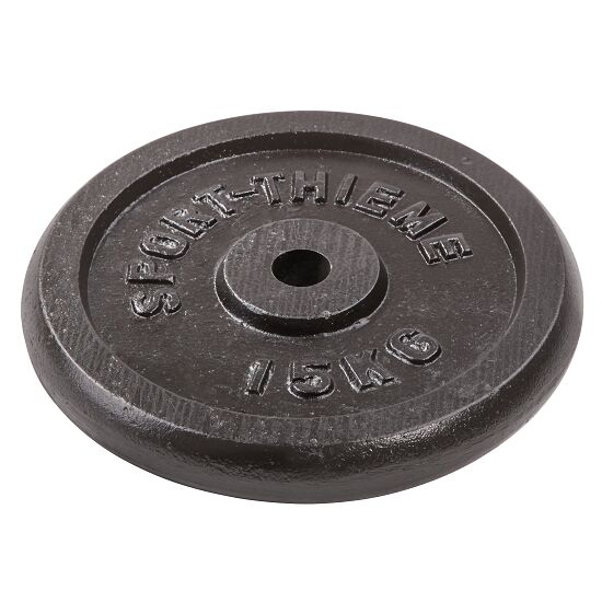 Sport-Thieme® Gietijzeren Halterschijf 15 kg
