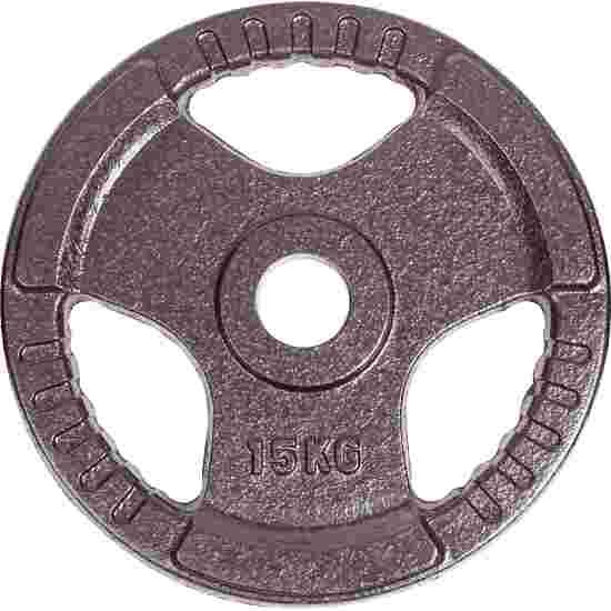 Sport-Thieme Gietijzeren Wedstrijdhalterschijven 15 kg
