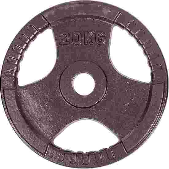Sport-Thieme Gietijzeren Wedstrijdhalterschijven 20 kg
