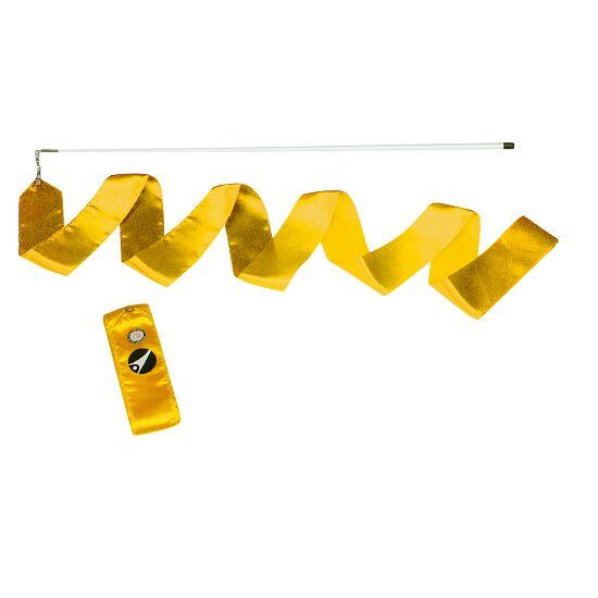 Sport-Thieme® Gymnastiek-wedstrijdlint met staaf Wedstrijd, lengte 6 m, Geel