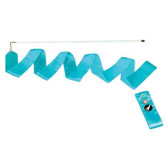 Sport-Thieme® Gymnastiek-wedstrijdlint met staaf Wedstrijd, lengte 6 m, Lichtblauw