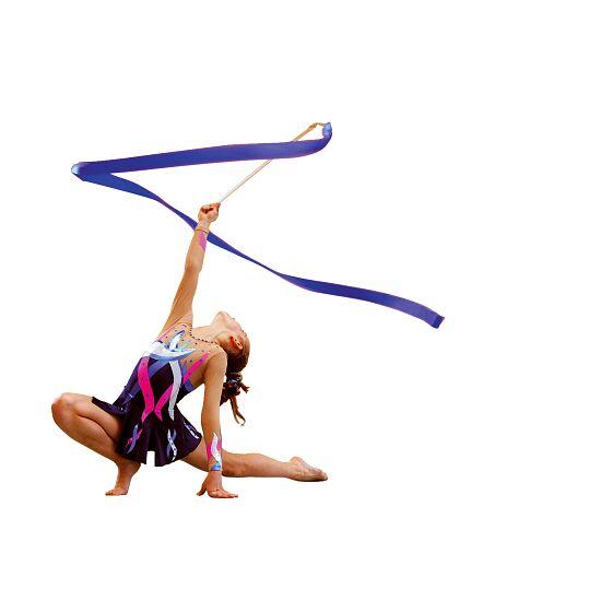 Sport-Thieme® Gymnastiek-wedstrijdlint met staaf Wedstrijd, lengte 6 m, Korenblauw