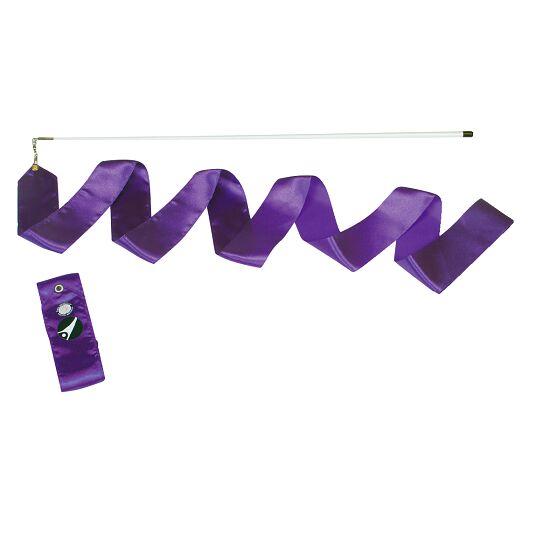 Sport-Thieme® Gymnastiek-wedstrijdlint met staaf Wedstrijd, lengte 6 m, Violet