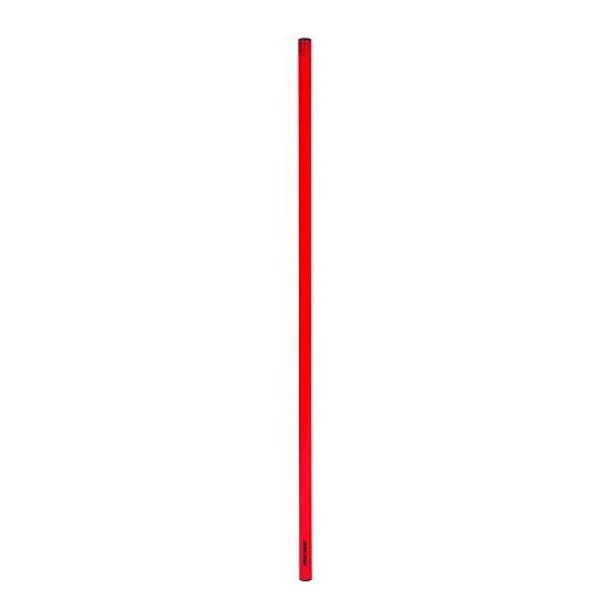 Sport-Thieme Gymnastiekstaaf uit ABS-Kunststof 100 cm, Rood