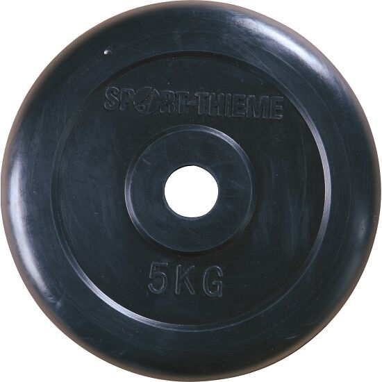 Sport-Thieme® Halterschijven met rubber bekleed 5 kg