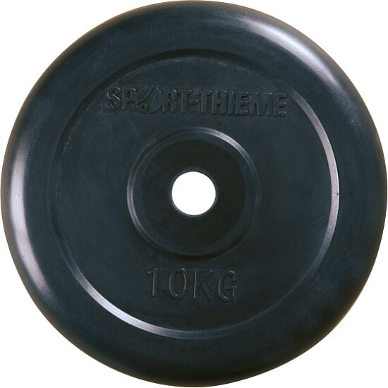 Sport-Thieme® Halterschijven met rubber bekleed 10 kg