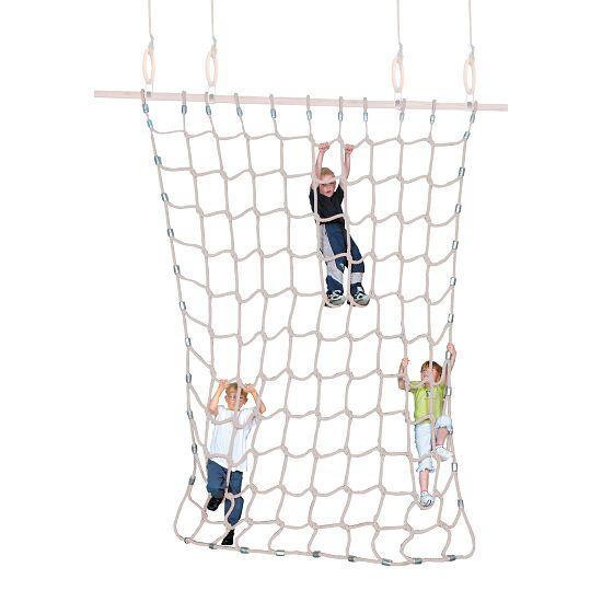 Sport-Thieme® Klimnet Zachte spinvezels, naturel kleuren, 3x2,5 m