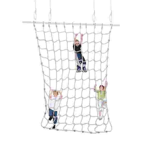 Sport-Thieme Klimnet Zachte spinvezels, naturel kleuren, 3x2,5 m